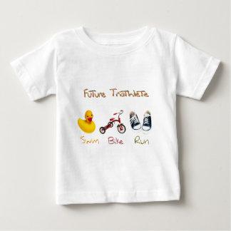 未来のTriathlete ベビーTシャツ
