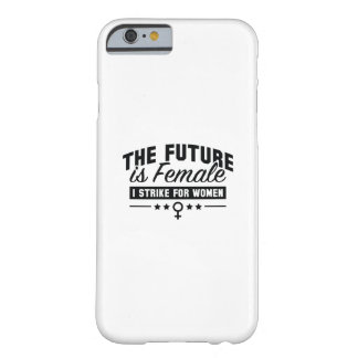 未来は女性です BARELY THERE iPhone 6 ケース