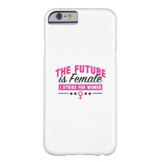 未来は女性です iPhone 6 ベアリーゼアケース