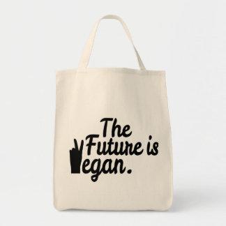未来は完全菜食主義者です トートバッグ