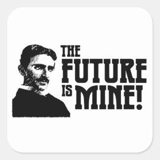 未来は私の物です! ステッカー