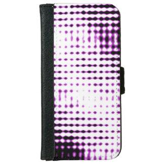 未来派のスタイルの電話箱-紫色 iPhone 6/6S ウォレットケース