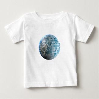未来派のビジネス技術のグローバル・ネットワーク ベビーTシャツ
