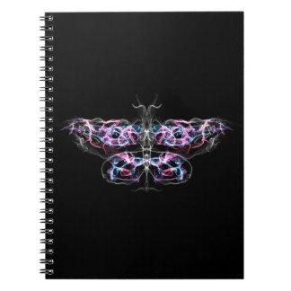未来派のフラクタルの蝶 ノートブック
