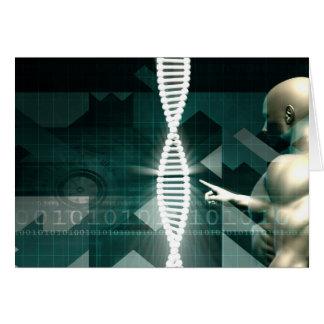 未来派の医学の抽象的な背景 カード