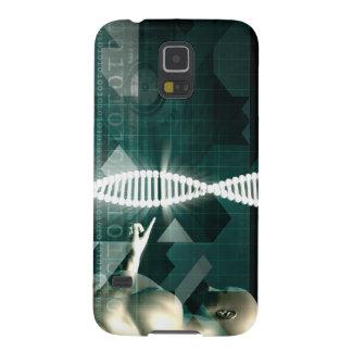 未来派の医学の抽象的な背景 GALAXY S5 ケース