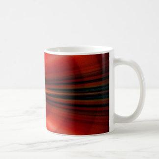 未来派の抽象デザイン コーヒーマグカップ