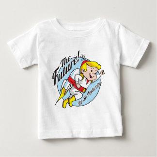 未来 ベビーTシャツ