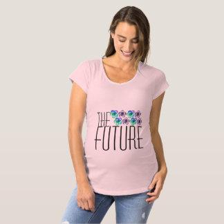 未来 マタニティTシャツ