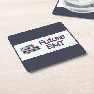 未来EMT スクエアペーパーコースター
