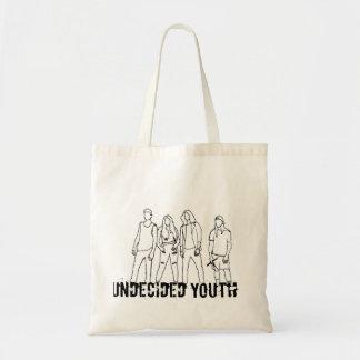 未決定の青年戦闘状況表示板 トートバッグ