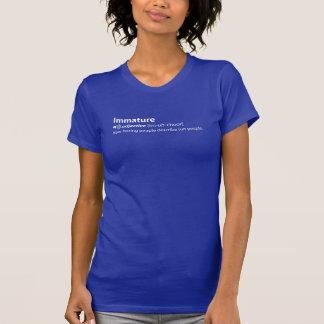 未熟 Tシャツ