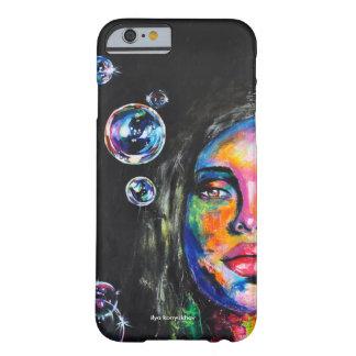 未知の女の子および石鹸の泡 BARELY THERE iPhone 6 ケース