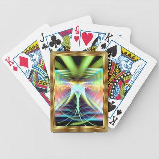 未知数のApopの眺めを遊ぶカードは注意します バイスクルトランプ