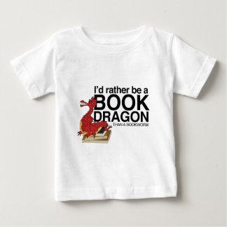 本のドラゴン ベビーTシャツ