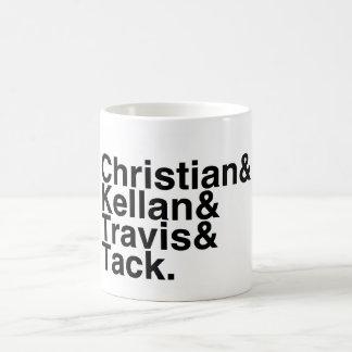 本のボーイフレンドのクリスチャン、Kellan、Travisの鋲 コーヒーマグカップ