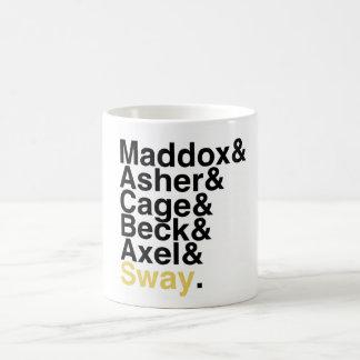 本のボーイフレンド- Maddoxのアセルのおりの小川のアクセルの動揺 コーヒーマグカップ