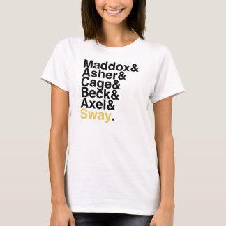 本のボーイフレンド- Maddoxのアセルのおりの小川のアクセルの動揺 Tシャツ