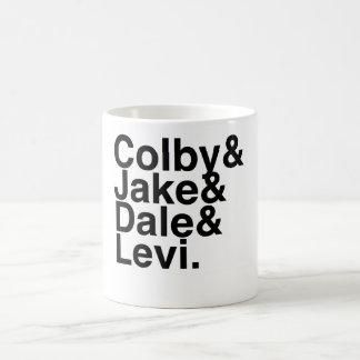 本のボーイフレンドColby、Jake、Dale、リーバイズ コーヒーマグカップ