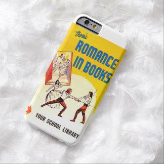 本のヴィンテージの広告のiPhone6ケースでロマンスがあります Barely There iPhone 6 ケース