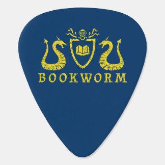 本の虫の紋章のギターピック ギターピック