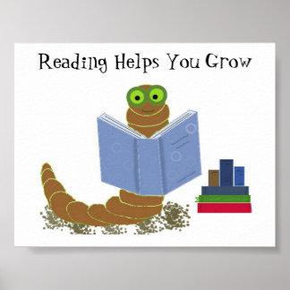 本の虫の読本 ポスター