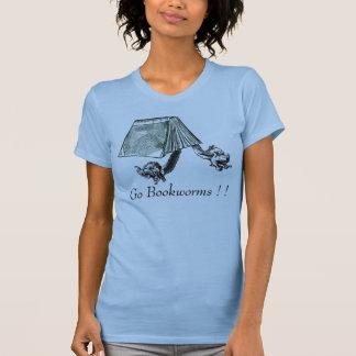 本の虫は行きます! ! ! ! Tシャツ