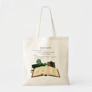 本の虫 トートバッグ