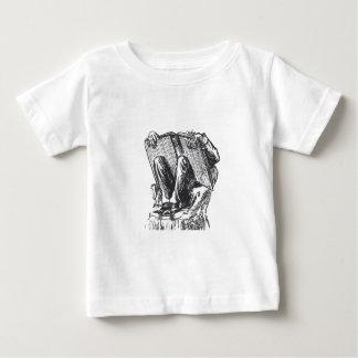本の虫 ベビーTシャツ