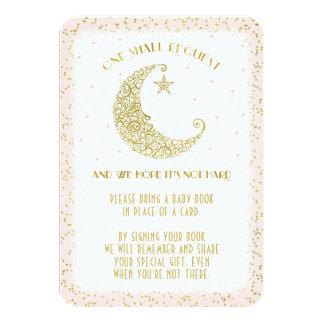 本の要求きらめき少し星のベビーシャワーカード カード