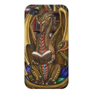 本のWyrmの読書ドラゴン iPhone 4/4S ケース