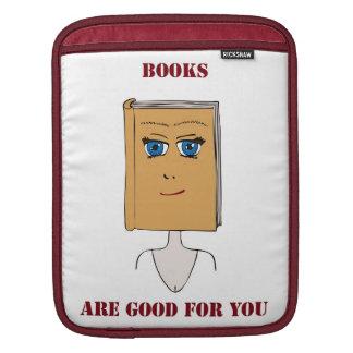 本はあなたのためによいです iPadスリーブ