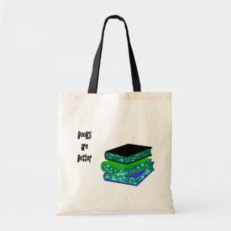 本はよりよいです トートバッグ