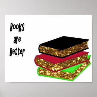 本はよりよいです ポスター