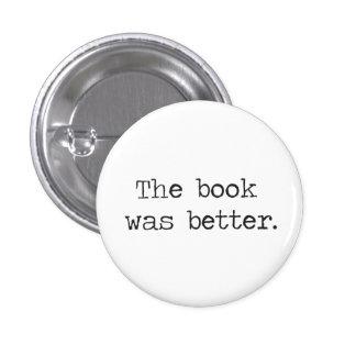 本はよりよかったです 3.2CM 丸型バッジ