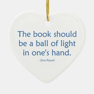 本はライトの球べきです セラミックオーナメント