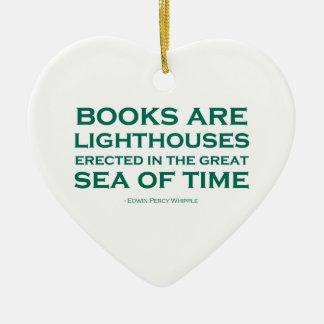 本は灯台です セラミックオーナメント