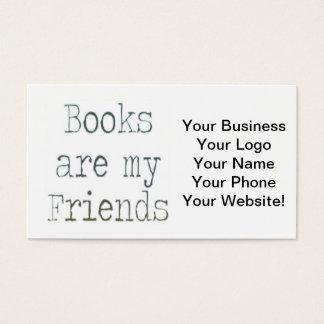 本は私の友人です 名刺