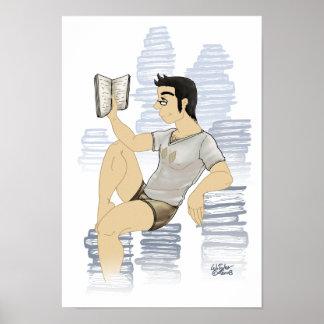 本みみずの芸術のプリント ポスター