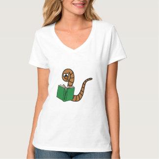 本みみず Tシャツ