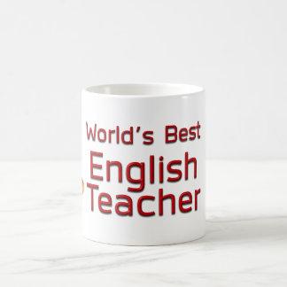 本を持つ世界で最も最高のな英語の先生 コーヒーマグカップ