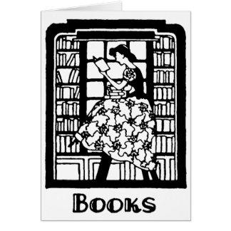 本を読む愛 カード
