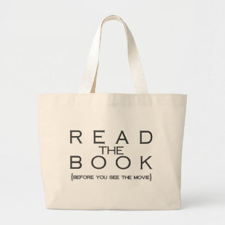 本を読んで下さい ラージトートバッグ
