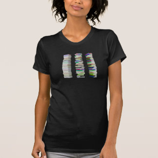 本レディースTシャツの積み重ね Tシャツ