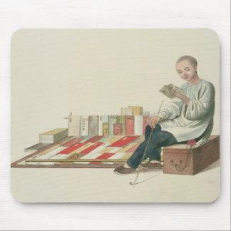 本屋は、「中国の衣裳」からの6つをめっきします、 マウスパッド