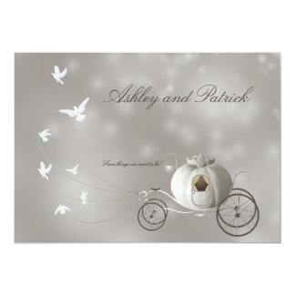 本当のおとぎ話の結婚式 カード