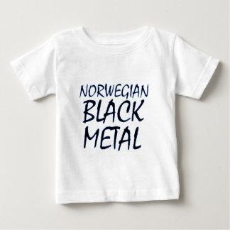 本当のノルウェーの黒い金属 ベビーTシャツ