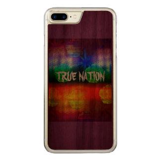 本当の国家 CARVED iPhone 8 PLUS/7 PLUS ケース