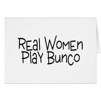 本当の女の演劇Bunco カード