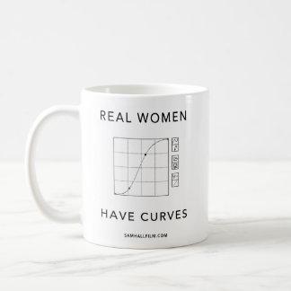 本当の女はカーブを持っています コーヒーマグカップ
